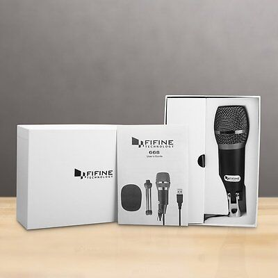 NEW USB Recording Microphone for Mac/PC - Fifine Plug & Play