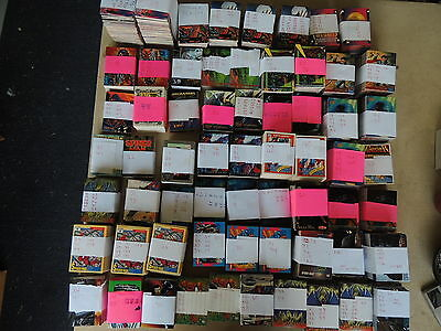 Marvel Related Cards Huge Lot See Pics You Will Be Amazed Everything Pictured