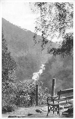 In The Pass of Killiecrankie Bench River Panorama