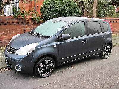 2013 NISSAN NOTE 1.6 N-TEC+ AUTO BLUE ( only 16,600 miles )