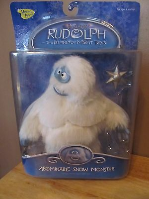 Rudolph & The Island of Misfit Toys Deluxe Abominable Snowman (Bumble) Figure