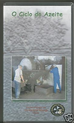 Circle Of Olive Oil From Alentejo Portugal Rare Traditional Art Vhs