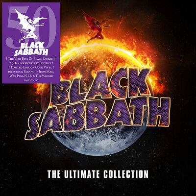 Black Sabbath The Ultimate Collection LP 4 X Vinyl Collectors Cross Boxset NEW