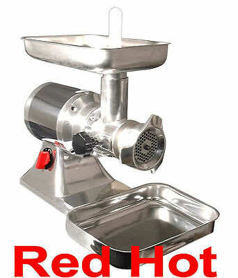 Omcan 11053 Italian Made Commercial #22 Meat Grinder 1.5 Hp FTS 22
