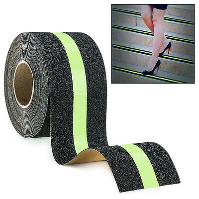 5cm*5m Prevents Risk of Slipping on Stairs Anti-Slip Grip Tape Glow In The Dark