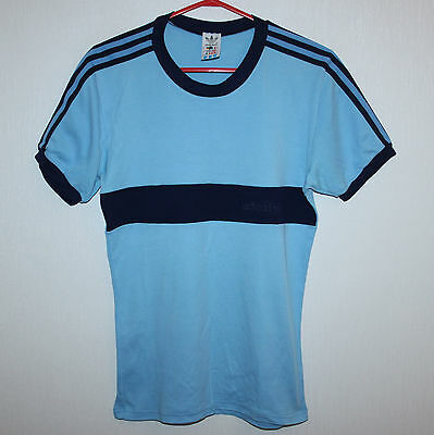 Vintage Adidas Originals shirt Size GB 40 blue