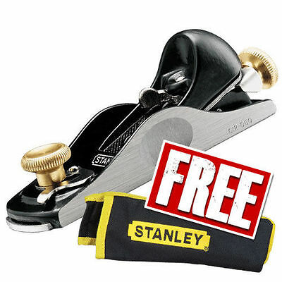 Stanley STA512060 60 1/2 Inch Fully Adjustable Block Plane and Pouch 5-12-060