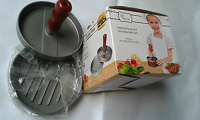 Jolly Chefs Hamburger Burger Press,Great for making your own Homemade Burgers