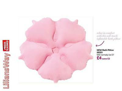 Avon Planet Spa Bath Pillow~RELAX in Comfort~Inflatable Soft Touch Pillow~RRP £7