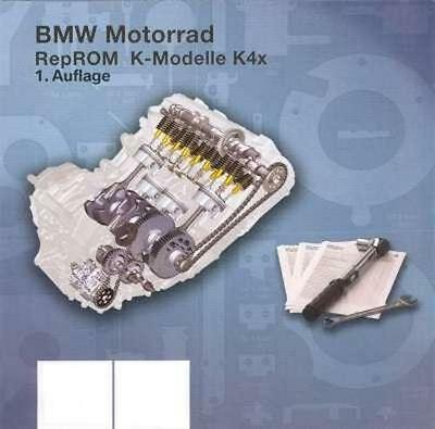 2005-2006-2007-2008 BMW K1200GT RepROM Service Manual on a CD - Multilingual