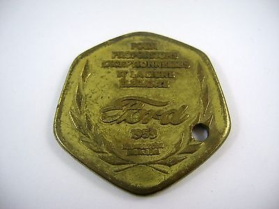 Vintage Collectible Tag: 1959 FORD EXPO 59 Brussels World Fair 1958