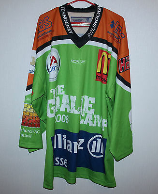 The Goalie Camp 2008 ice hockey jersey signed