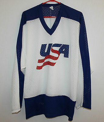 Vintage USA National Team ice hockey jersey Size 52
