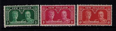 NEW ZEALAND STAMPS SC#199-201 MNH ,Cat.$25
