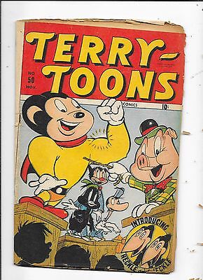 Terry Toons #50 Timely Comics (1946)