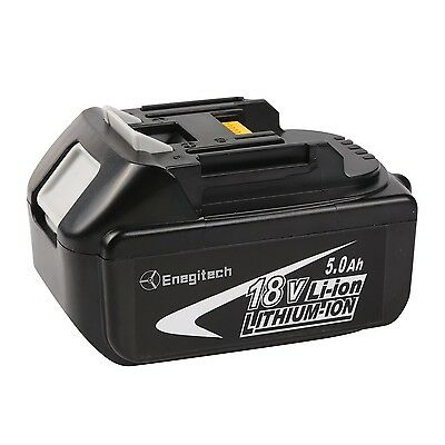 Enegitech 1 Pack 18V 5.0AH LXT Lithium-Ion Replacement Battery For Makita BL1...