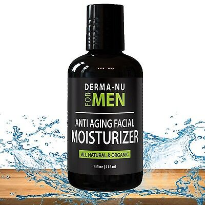 Anti Aging Facial Moisturizer for Men By Derma-nu - Best Daily Face Cream for...
