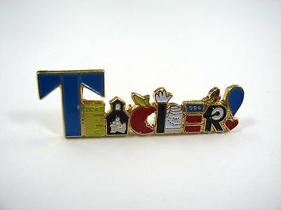 Collectible Pin: TEACHER Gift Education