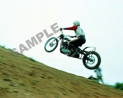 "25th 1977 White Rose Motorcycle Club Hill Climb Motorcycles 8""x 10"" Photo 8"