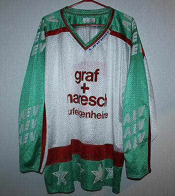 Extra rare vintage HC AEV Augsburg Augsburger Panters match worn? jersey #77