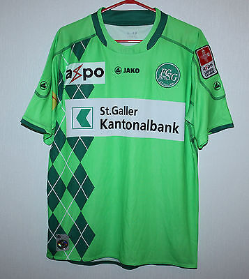 St. Gallen swiss home shirt 10/11 Jako