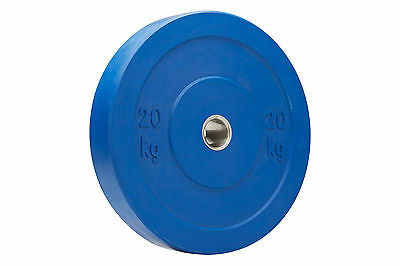 Pro Bumper Gym Weight Plate - 20kg Blue