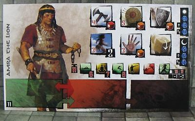 Conan the board game Hero expansion : Amra the Lion aka King Conan