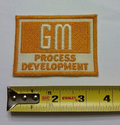 VINTAGE Embroidered Automotive Gasoline Patch (Original-UNUSED) GM PROCESS