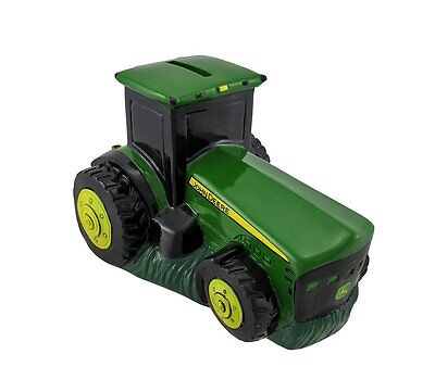 John Deere Ceramic Tractor Bank New and exclusive! The perfect gift