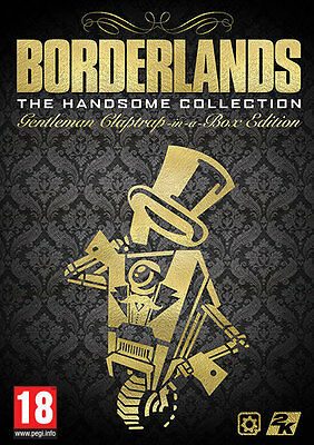 Borderlands The Handsome Collection Gentleman Claptrap-In-A-Box Edition New