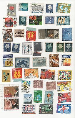 Netherlands  ( Holland ) Selection Of Mostly Used Postage Stamps
