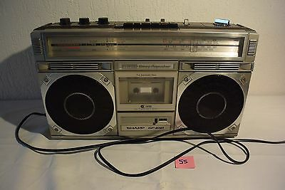 C55 Ancienne radio vintage SHARP GF 6161