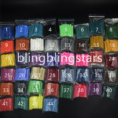 1008 Pcs Dental Ligature Ties Orthodontics Elastic 44 Colors Rubber Bands 1 Pack
