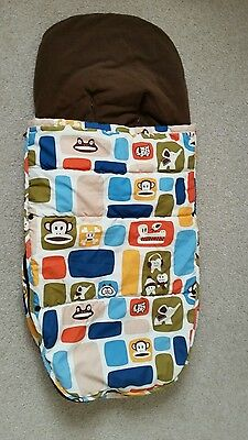 Bugaboo universal footmuff Paul Frank limited edition fits cameleon, donkey