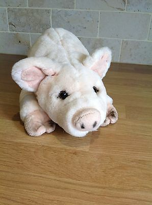 Pig Soft Toy Farm Farmyard Plush Cuddly