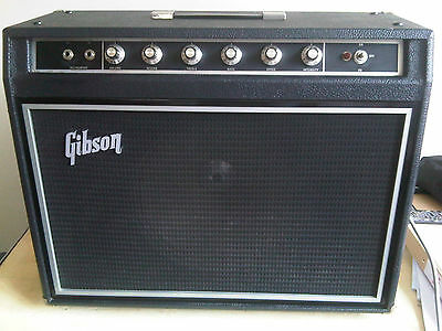 Vintage and rare 70's Gibson G40 Guitar Amp