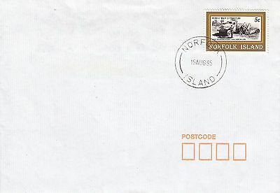 J  2069 Norfolk Island 1995 cover 5c local rate;