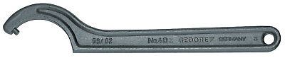 Gedore 6335850 Hook wrench with pin, 16-18 mm