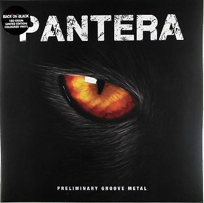 Pantera - Preliminary Groove Metal - Limited Gatefold Clear Vinyl LP NEW SEALED