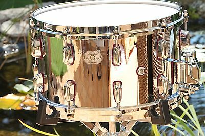 """MASSHOFF Snare """"The Chief"""" Chrome Limited Edition Snare 14 x 8 - MINT Condition"""
