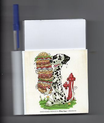 Dalmation Memo Magnet by Mike McCartney