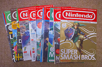 Official Nintendo Magazine – Job Lot of Assorted Issues from 91 - 110