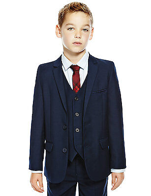 Marks & Spencer • AUTOGRAPH Notch Lapel 2 Button 2 Piece Suit - 8-9 years old
