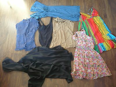 Job Lot 7 Items Women Tops Dresses Size XS/S Include Warehouse, Topshop