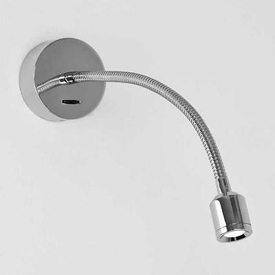Astro 0659 Fosso Chrome Finish Led Bedside Reading Light With Switch