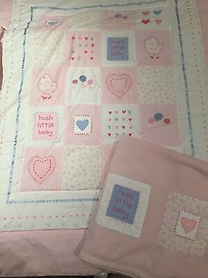 Next baby girl cot bedding