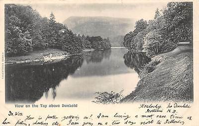 View on the Tay above Dunkeld