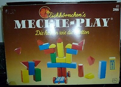 Velcro Building Wooden Blocks - Eichhornchen's Meckie-Play
