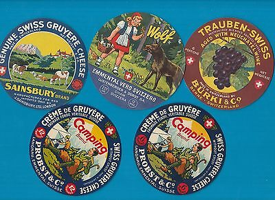 Selection of all different cheese labels Fromage formaggio #392