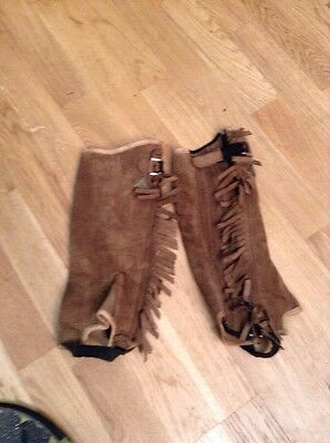Mountain Horse Child's Size Large Suede Chaps